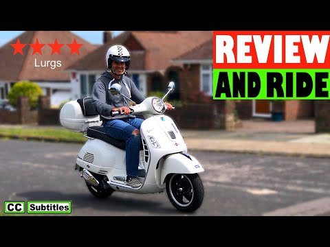 Vespa GTS 300 Review and Ride