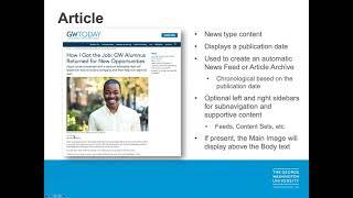 GW Drupal Editorial Theme Overview title slide