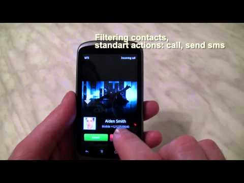 Vídeo do Video Caller Id