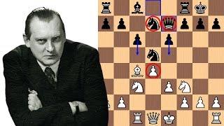 A Knight's Dream Home | Alexander Alekhine vs Emanuel Lasker 1934