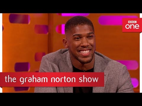 Graham Norton tries out Anthony Joshua's training routine - The Graham Norton Show - BBC One