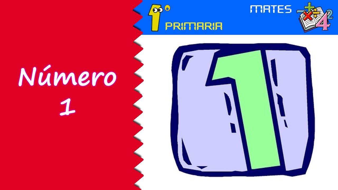 Matemáticas. 1º Primaria. Tema 0: Número 1