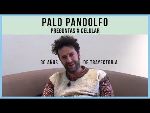 Palo Pandolfo Y La Hermandad video 30 Años de Trayectoria - Preguntas X Celular