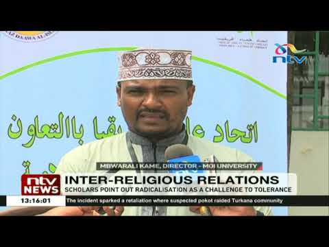 A section of Muslim scholars condemn radicalisation and acts of terror