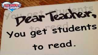 Letter to Teachers