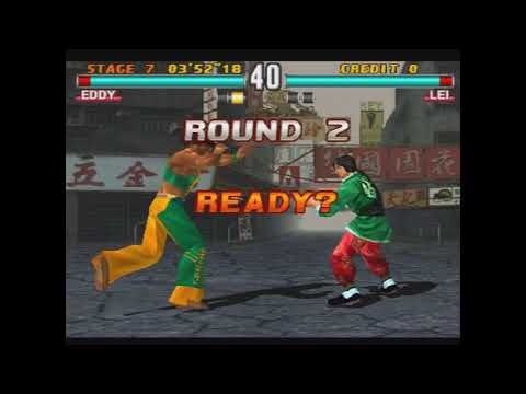 Tekken 3 Eddy Gordo arcade mode  My gameplay - смотреть