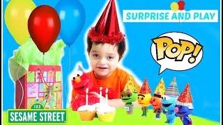 Elmos Birthday Gund Talking Happy Birthday Elmo Sesame Street Funko Pop Vinyl Figures