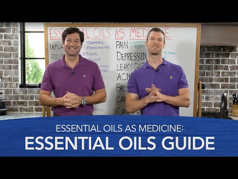 Video Essential Oils As Medicine: Essential Oils Guide