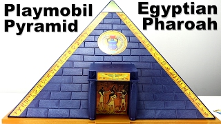 Playmobil Pharaoh's Pyramid Playset 5386 - Egyptian pyramid traps treasure - Playmobil Pyramide