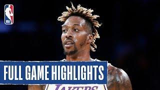WARRIORS at LAKERS   Dwight Howard Fills The Stat Sheet In W   2019 NBA Preseason