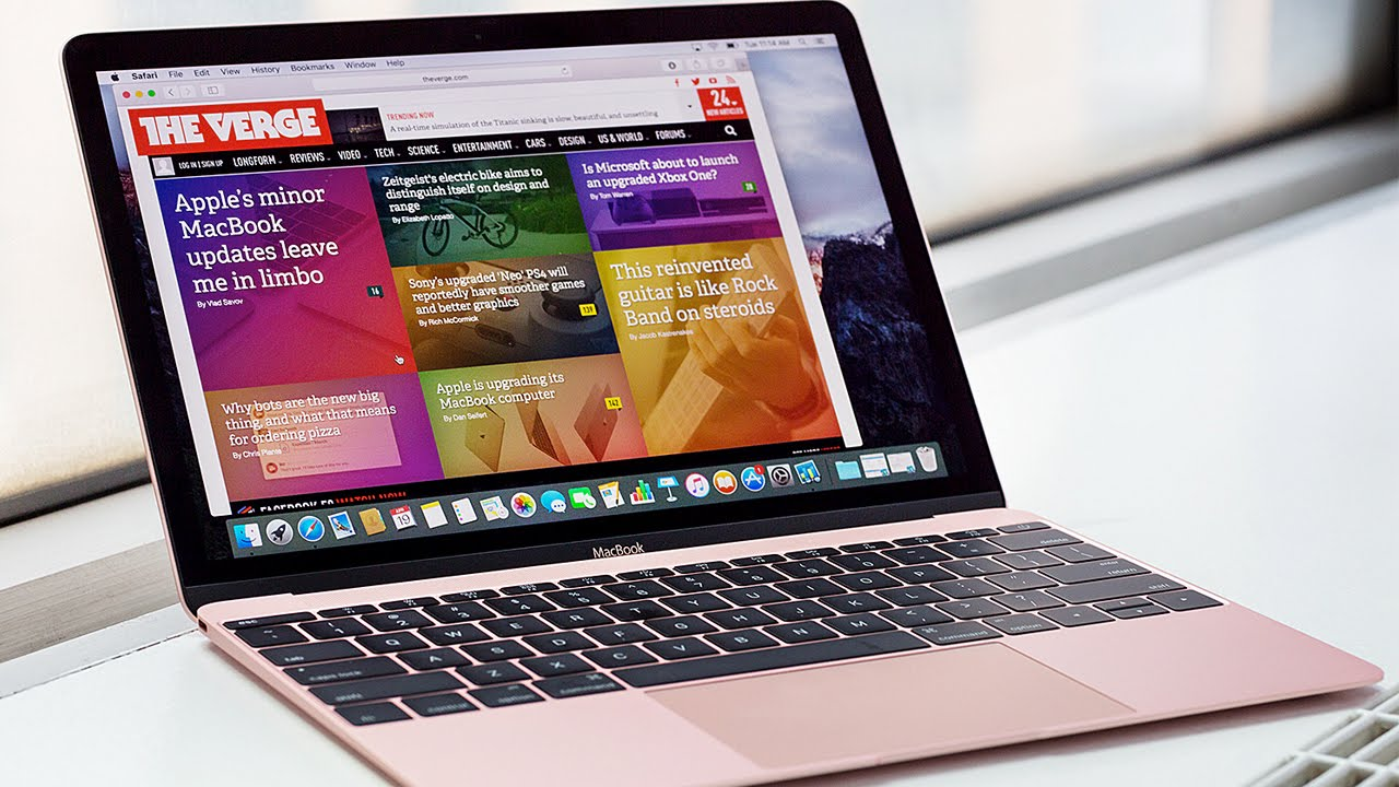 Apple's faster, pinker new MacBook thumbnail