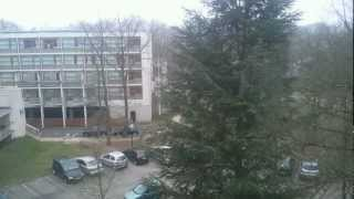 preview picture of video 'TimeLapse: sunday morning on HEC campus, Jouy-en-Josas'