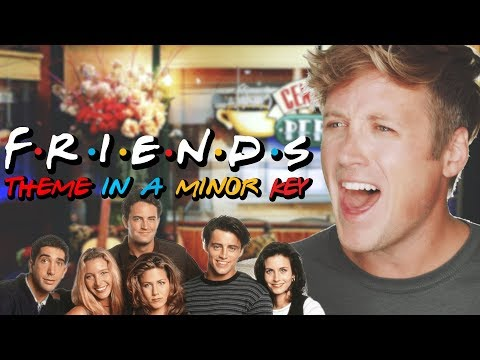 "Move a couple notes to switch it to a minor key and the ""Friends"" theme song becomes an intense 80s piano ballad."