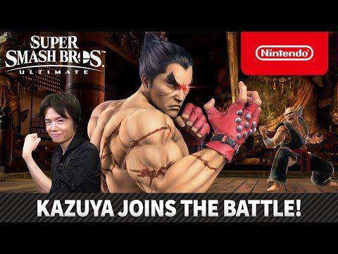 "Super Smash Bros. Ultimate – Mr. Sakurai Presents ""Kazuya"""