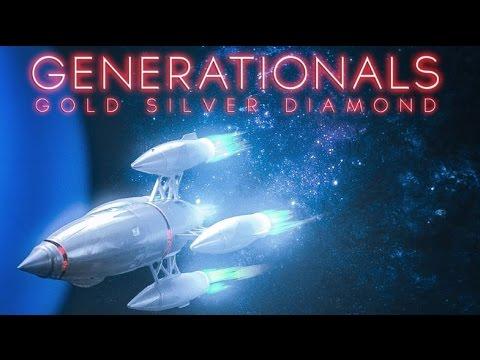 "Generationals - ""Gold Silver Diamond"""