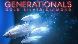 Generationals - Gold Silver Diamond [OFFICIAL MUSIC VIDEO]