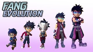 Evolution of FANG - Boboiboy the Movie 2 Update