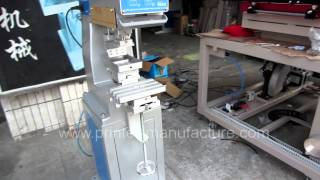 preview picture of video 'Single Color Pad Printing Machine Economic Pad Printer'
