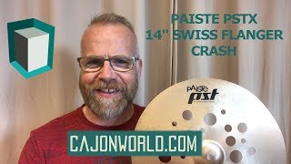 "PAISTE PSTX 14"" Swiss Flanger Crash"
