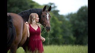 Fotoshooting mit Pferd / Making Of