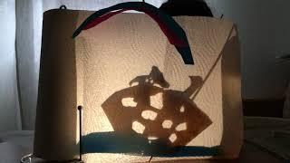 """Karagöz-Schattentheater-Kunst: """"Reise mit dem Regenbogen"""""""