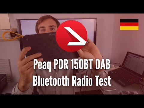 Peaq PDR 150BT DAB Bluetooth Radio Test [4K UHD]