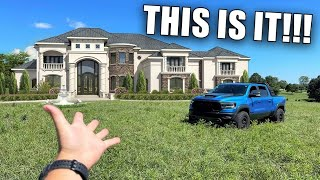FINALLY REVEALING My New DREAM GARAGE!!! *Building Our New House!*
