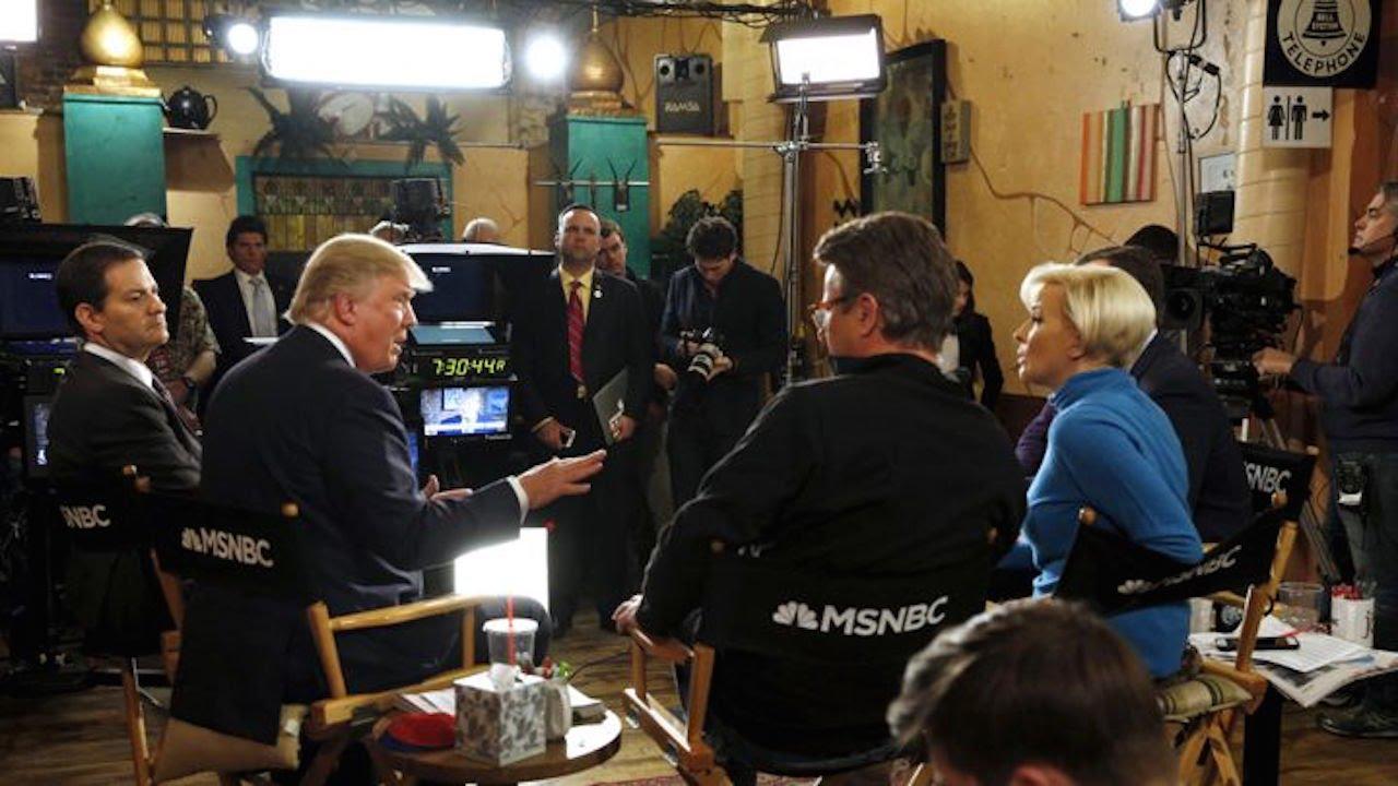 Hot Mic Catches Morning Joe Groveling To Trump thumbnail