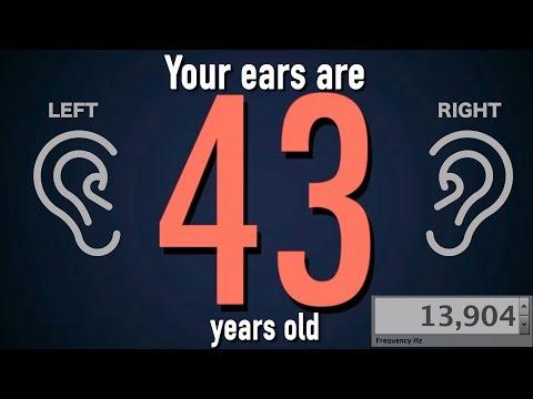 Otestujte si, jak staré máte ve skutečnosti uši