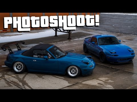 Cars and Coffee & Photoshoot with the Miata!