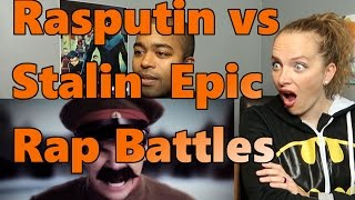 Rasputin vs Stalin  Epic Rap Battles of History Season 2 finale  (Reaction 🔥)