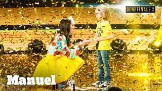 Manuel, Un Rumoroso Golden Buzzer