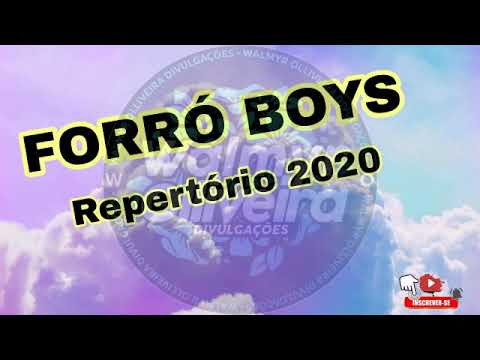 FORRÓ BOYS - REPERTORIO NOVO 2020