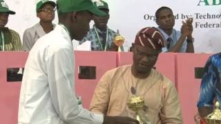 Lagos State Emerges Winner Of 2014 National Junior Engineers Scientist Competition