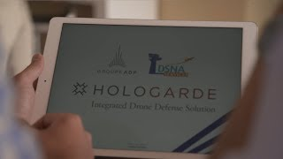 Hologarde Integrated Drone Defense Solution at Le Bourget 2017