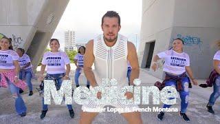 Medicine   Jennifer Lopez Ft. French Montana (official)  BY CESAR JAMES | Zumba En Cancún