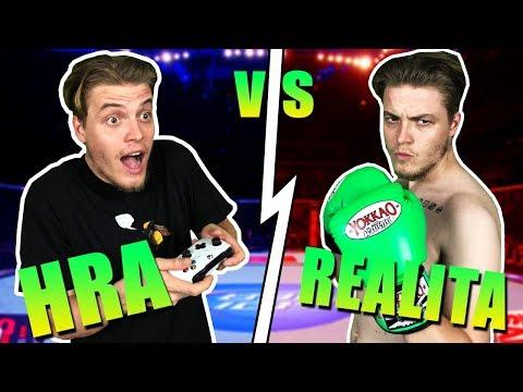 HRA vs REALITA! Thajský Box w/ Evžen, Dávid