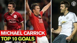 Video Michael Carrick | Top 10 Goals | Manchester United MP3, 3GP, MP4, WEBM, AVI, FLV Agustus 2019
