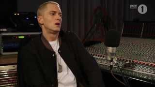 Eminem & Zane Lowe Part 1 2013 (Rus)