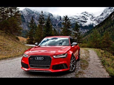 Audi  RS6 Avant Универсал класса A - рекламное видео 4