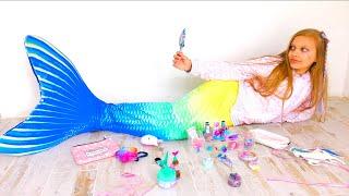 Mermaids Makeup And Mermaid TAIL! Best Mermaid DIY Ideas!