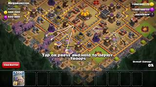 1000 Max Golems Vs Max Eagle Artillery ON Clash Of Clans |How It's Possible?