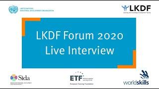 #LKDForum 2020 - Live with the World Economic Forum (Day 1)