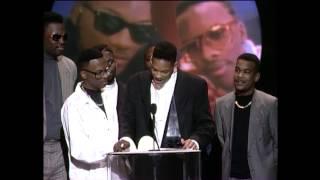 D.J. Jazzy Jeff & The Fresh Prince Win Favorite Rap Album - AMA 1989