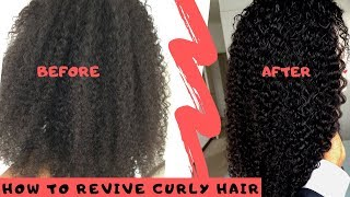 How to Revive/Restore Curly hair ft Isee Hair (Ali Express)|South African Youtuber