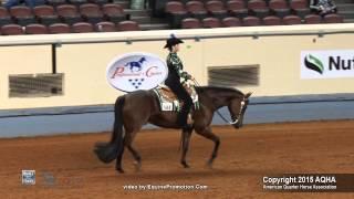A Judge's Perspective: 2015 AQHYA Horsemanship World Champion