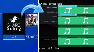 How to IMPORT Music to Sharefactory (EASY METHOD)