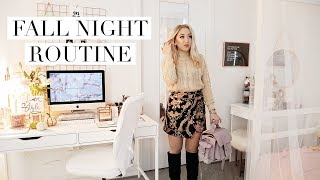 My Fall Night Time Routine + 200K Giveaway 🍂