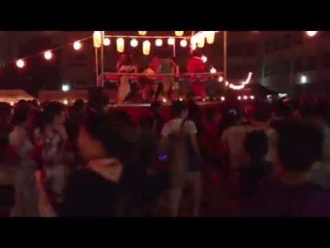 何故かダンシングヒーローで激しく盛り上がる盆踊り〜名古屋