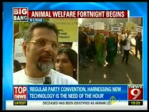 Walkathon : A walk to raise voice against cruelty to animals News 9